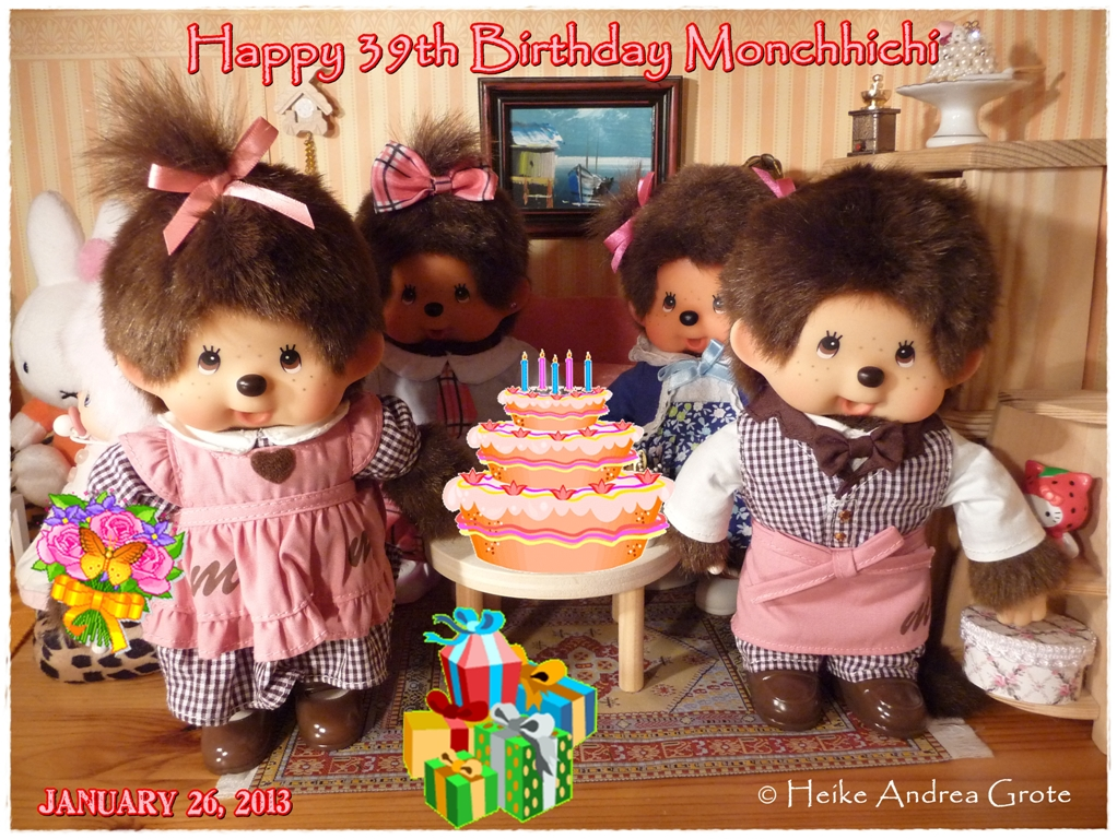 Happy 39th Birthday Monchhichi