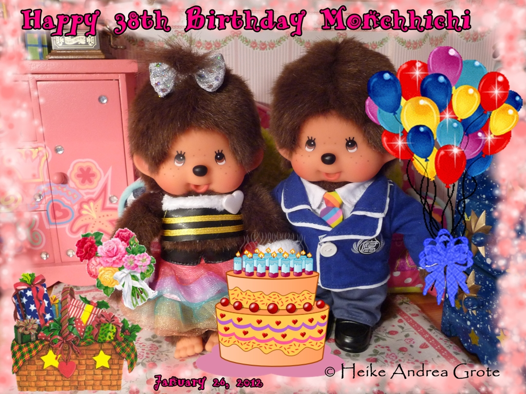 Happy 38th Birthday Monchhichi