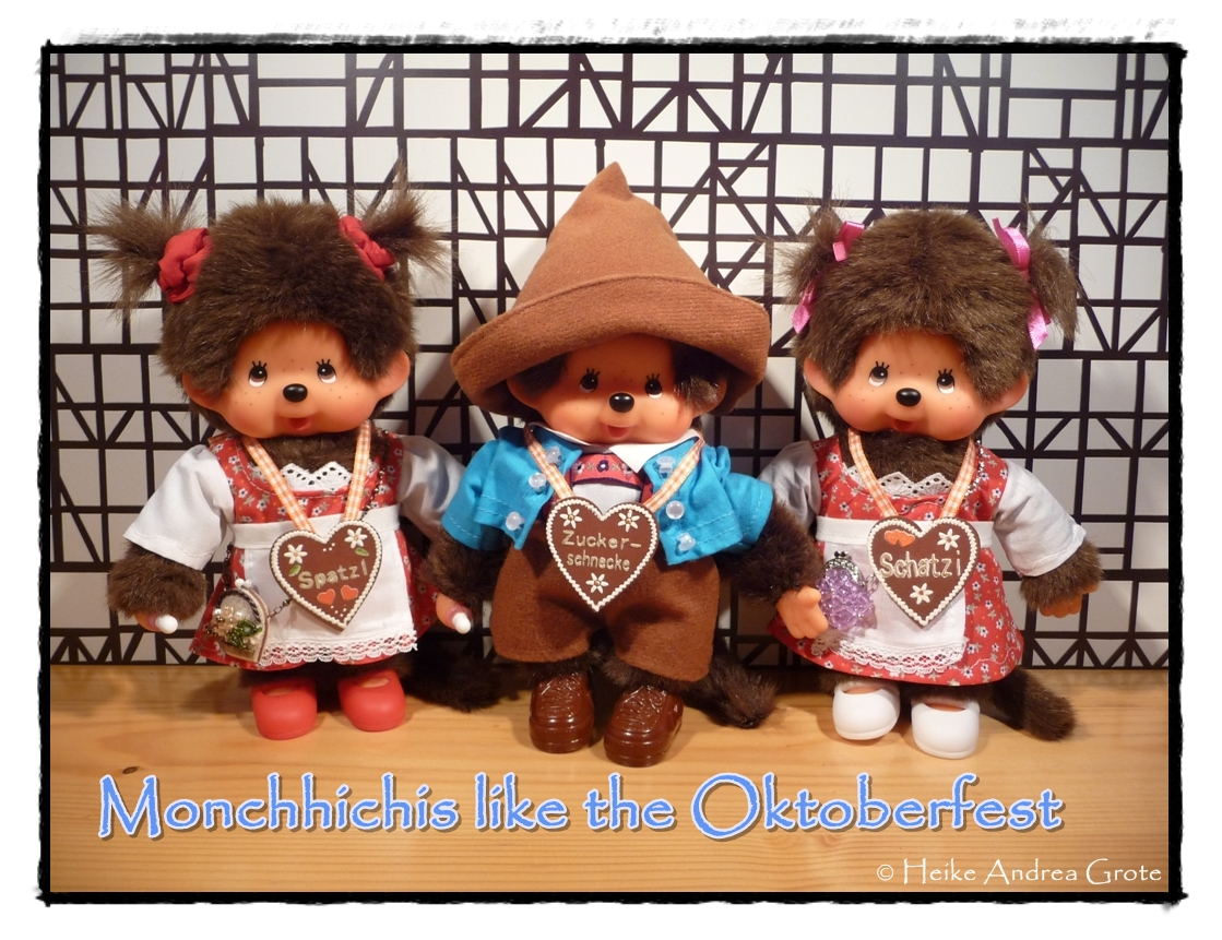 Monchhichi like the Oktoberfest